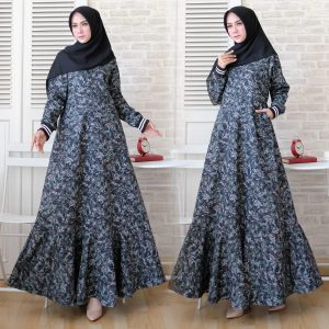 Gamis army soft blue
